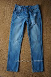 Джинсы сине-голубые тоненькие Blue Seven Бангладеш. Размер 140, 170 ... 5dad0eddd4b