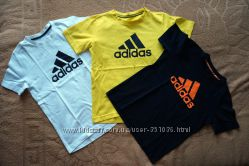 Футболки Adidas оригинал р. 9-10 лет