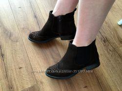 Замшевые ботинки челси S. Oliver 40 размер