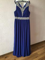 Шикарное платье для любого торжества. Размер 14 М-L