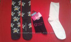 Носки женские высокие и низкие
