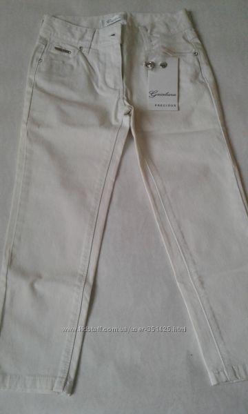 белые узкие джинсы gaialuna