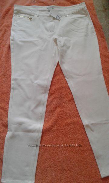 узкие молочные брюки большого размера h&m