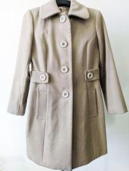 Пальто демисезонное для девочки Кашемировое подростковое девичье пальто