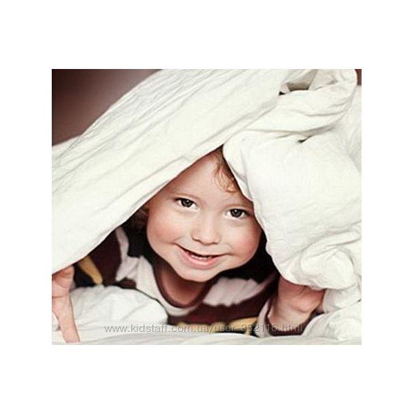 Детские пуховые одеяла из натурального пера и пуха