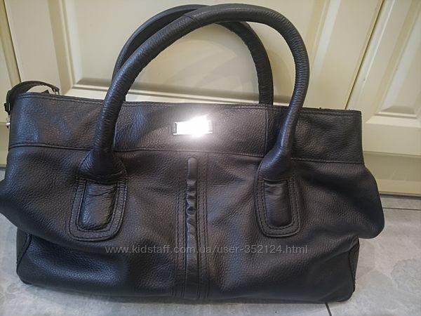 Кожаная вместительная сумка Rowallan