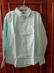 Светло-мятная рубашка Children&acutes Place M  новая