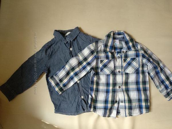 Рубашки на рост 86-98 Crazy8, Topolino