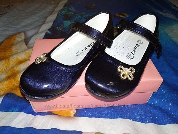 Туфельки Bi&Ki 26 размер в идеальном состоянии