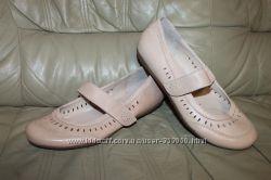 Кожаные туфли WIDER FIT DEBENHAMS UK 6 EUR 39 стелька 25, 5 см