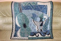 Винтажный шелковый платок, роуль