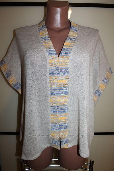 Стильная блуза оверсайз ZARA р. М, на 44-48 р