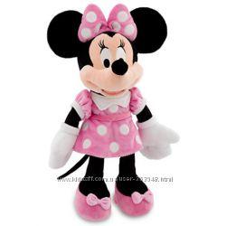 Minni Mouse и другие плюшевые игрушки от Disney