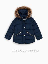 Красивые теплые курточки Zara 7, 8, 9 лет