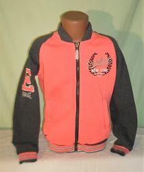 Теплая трикотажная куртка, бомбер Everlast 9-10лет рост 140