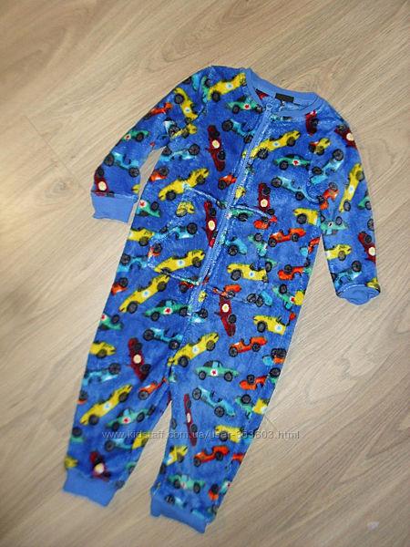 Теплый комбинезон, пижама, слип Некст на 2-3годика рост 98