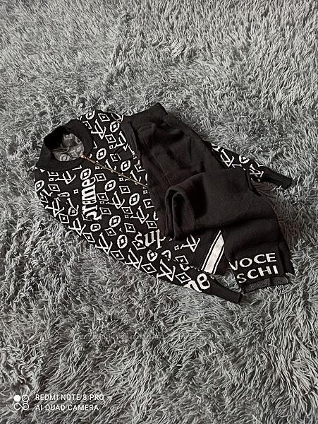 Теплый костюм двойка Supreme Louis Vuitton