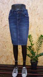 Новые модели  джинсовых юбок