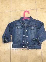 Стильный фирменный джинсовый пиджачок Mini для модника 1-1, 5 года