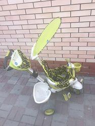 Детский трёхколёсный велосипед с ручкой Smart Trike от 6 мес. до 4-х лет