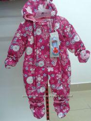 Сдельные Термокомбинезоны GUSTI для малышей 6, 9, 12, 18, 24 месяца