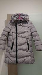Зимняя куртка на девочку 8 лет.