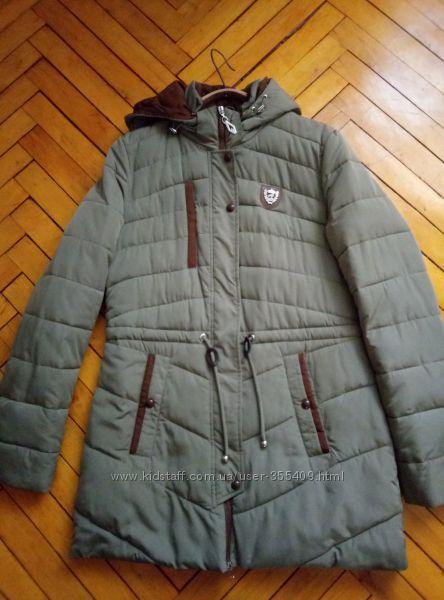 Шикарная курткапарка женская р. 48