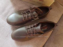 Мужские кожаные туфли ботинки Skechers harsen - artson р. 13- 47, 5 оригина