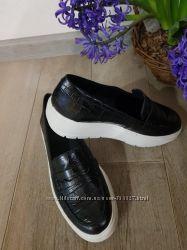 Шикарные туфли мокасины на платформе GEOX kaula, оригинал
