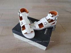 Стильные кожаные босоножки сандалии Geox d dandeliona, оригинал