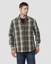 WRANGLER Flannel Shirt хлопок оригинал из США р.52-54-58-60-66-68-Укр