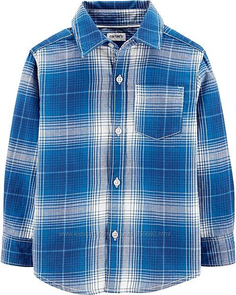 Рубашка с длинным рукавом Carters. 2Т