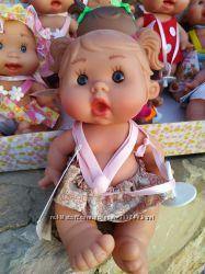 Ванильный пупсик девочка в розовом платье 21 см Pepotin Nines dOn