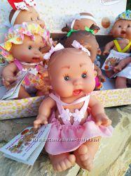 Ванильный пупс Pepotin Nines dOnil 21 см девочка розовые ромашки