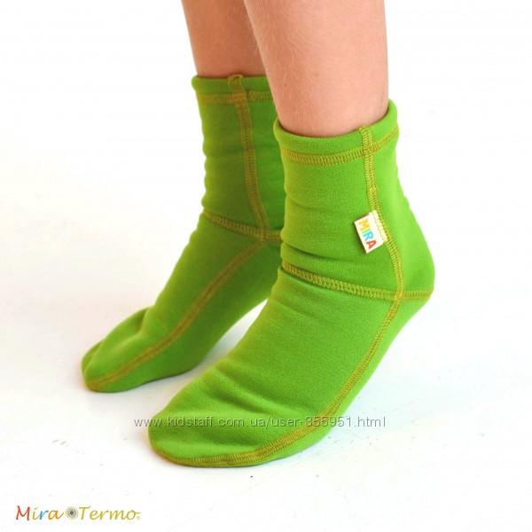 Термо носки и другие аксесуары Polartec Power Stretch. Деткам и взрослым