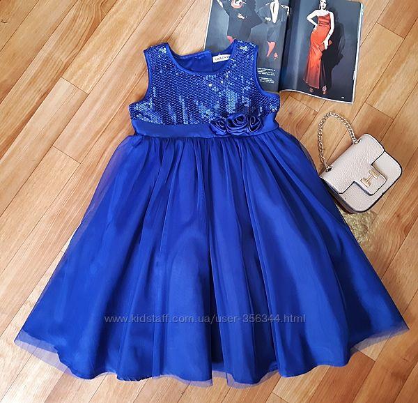 Красивенное нарядное платье Ladybird 5-6лет