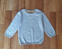Стильный джемпер с логотипом, свитер, кофта  next 12-18мес