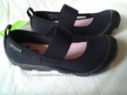 Crocs duet busy day Mary Jane туфли для девочки Крокс