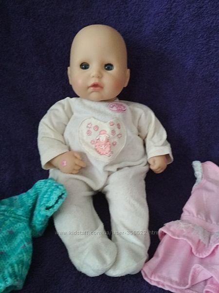 Интерактивная кукла My First Baby Annabell Zapf Creation Настоящая малышка