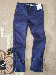Коттоновые джинсы штаны Джимбори на 6-8лет
