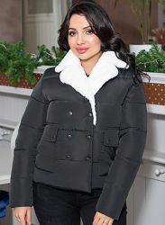Стильная зимняя куртка, размеры 44-54, выбор расцветок