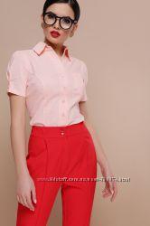Блуза с коротким рукавом, разные модели и расцветки, размеры 42-48