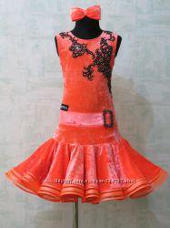 латина -платье для бальных танцев