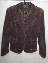 Пиджак вельветовый H&M р. 8