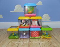 Кубики и шарики фишер прайс