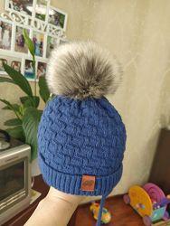 Зимняя шапочка с шарфиком