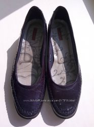 Кожаные удобные туфли Ecco оригинал, размер 37 25 см