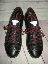 Кожаные полуботинки Ecco оригинал, размер 41 27 см