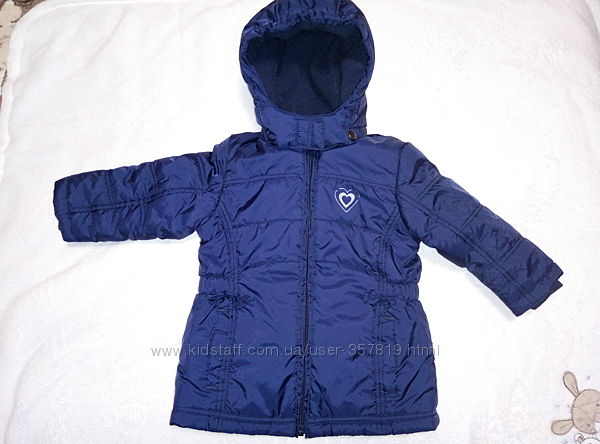 Тёплая симпатичная курточка Papagino Германия, размер 74-80