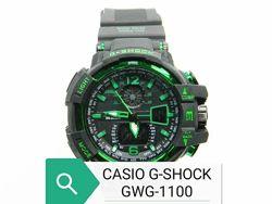 Часы наручные CASIO G-SHOCK GWG-1100 в 4-х цветах